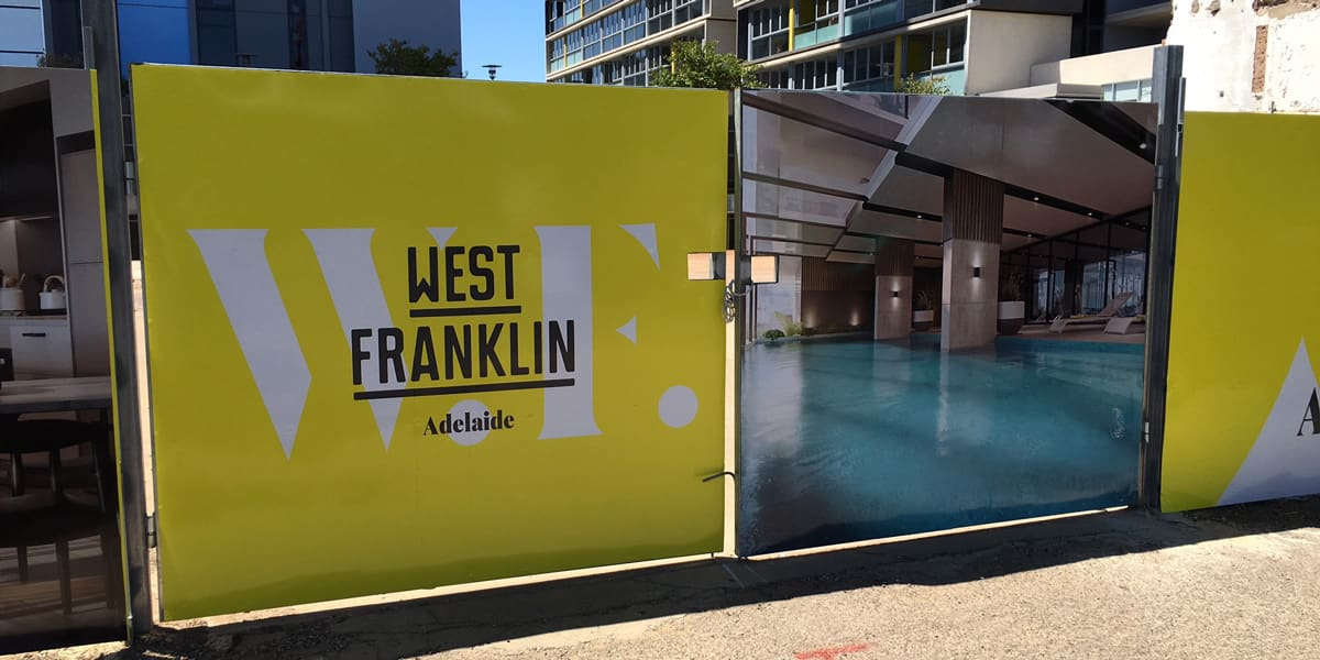 West Franklin Hoarding